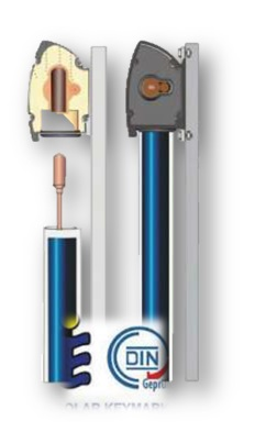 0-CO2 | Collettore Sottovuoto Heat Pipe