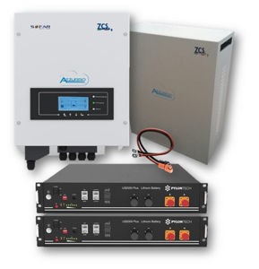 Picture of Zucchetti | Kit Retrofit Monofase 3000SP - PYLONTECH - Kit LV 4.8 kWh