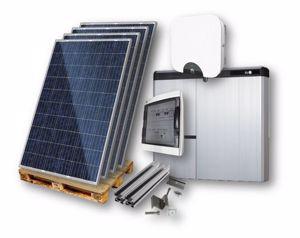Picture of KIT FV IBRIDO | Jinko Solar - HUAWEI - LG Chem - Sun Age - 1,95 kWp