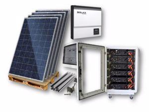 Picture of KIT FV IBRIDO   SolarFabrik - SOLAX - PYLON Tech - Sun Age - 5,04 kWp