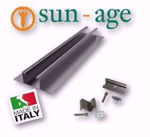Picture of Sun Age | KIT LAMIERA GRECATA con Profilo P401A00 - No.2 Moduli