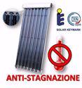 Immagine di Collettori Heat-Pipe | Pannello Solare a 10 Tubi Sottovuoto Heat Pipe 58x1800 - Anti-Stagnazione - Con Riflettori