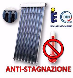 Picture of Collettori Heat-Pipe | Pannello Solare a 15 Tubi Sottovuoto Heat Pipe 58x1800 - Anti-Stagnazione - Con Riflettori
