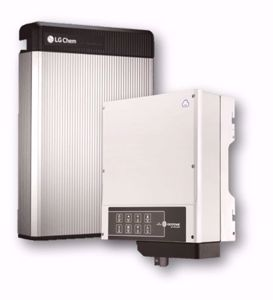 Picture of GoodWe | Kit Ibrido Monofase GW5048-EM - LG Chem RESU 6.5 da 6.5 kWh