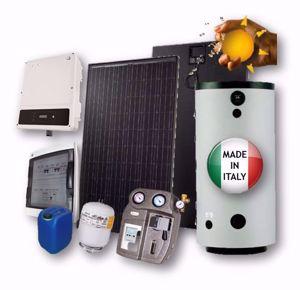 Picture of Kit Termofotovoltaico INTEGRAZIONE | Fototherm - GoodWe - Elbi - 4.5 kWp  con Accumulo da 500 litri