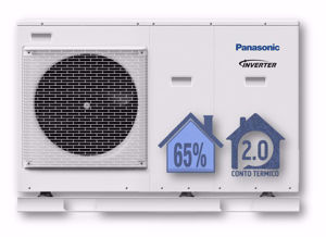 Picture of Panasonic | Aquarea Alta Connettività Monoblocco WH-MDC09J3E5 Generazione J -  Monofase da 9 kW - R32