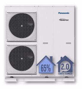 Picture of Panasonic | Aquarea Alta Connettività Monoblocco WH-MDC12H6E5 Generazione H - PdC Aria/Acqua Monofase da 12 kW