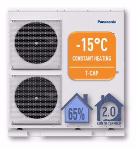 Picture of Panasonic | Aquarea T-CAP Monoblocco WH-MXC09H3E5 Generazione H - PdC Aria/Acqua Monofase da 9 kW