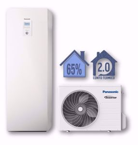 Picture of Panasonic | Aquarea Alta Connettività All in One WH-ADC0309J3E5+WH-UD03JE5 Generazione J - 1 Zona - PdC Aria/Acqua Monofase da 3 kW