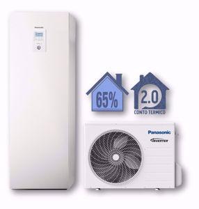 Picture of Panasonic | Aquarea Alta Connettività All in One WH-ADC0309J3E5+WH-UD05JE5 Generazione J - 1 Zona - PdC Aria/Acqua Monofase da 5 kW