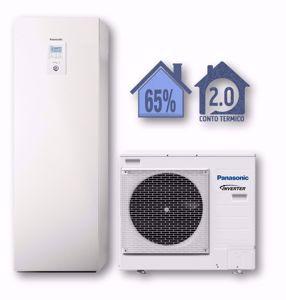 Picture of Panasonic | Aquarea Alta Connettività All in One WH-ADC0309J3E5+WH-UD07JE5 Generazione J - 1 Zona - PdC Aria/Acqua Monofase da 7 kW
