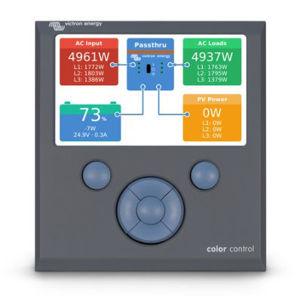 Picture of VICTRON ENERGY | Display per Controllo e Monitoraggio Color Control GX