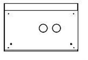 Picture of OLIMPIA SPLENDID | Accessori UNICO – Kit Cassaforma per incasso Cod. B0775
