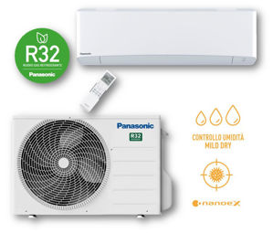 Picture of Panasonic | Kit Monosplit Etherea 12000BTU (3,5 kW) Bianco Cod. CU-Z35XKE + CS-Z35XKEW