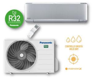 Picture of Panasonic | Kit Monosplit Etherea 9000BTU (2,5 kW) Argento Cod. CU-Z25XKE + CS-XZ25XKEW