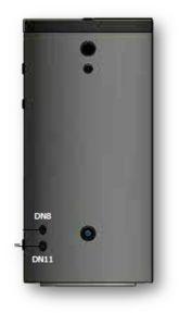 Picture of ELBI | BSP 300 Bollitore Solare Vetrificato per PdC a Singolo Scambiatore da 300 litri