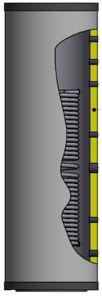 Picture of ELBI | BXP 300 Bollitore INOX da 300 litri per Impianti con Pompa di Calore