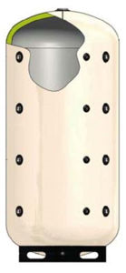 Picture of ELBI | PUFFER Plus 3000 Termo Accumulatore Inerziale per Riscaldamento da 3.000 litri