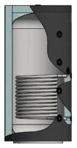 Picture of ELBI | PUFFER PPS1 1000 Termo Accumulatore Inerziale per Riscaldamento da 1.000 litri con UNO Scambiatore