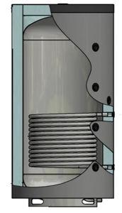 Picture of ELBI | PUFFER PPS1 1500 Termo Accumulatore Inerziale per Riscaldamento da 1500 litri con UNO Scambiatore