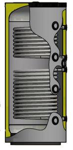 Picture of ELBI   PUFFER PPS2 500 Termo Accumulatore Inerziale per Riscaldamento da 500 litri con UNO Scambiatore