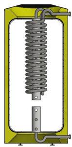 Picture of ELBI | Q-CQS 400 Termoaccumulatore Polivalente in Plastica per Riscaldamento da 400 litri con Stratificatore e Produzione ACS Istantanea