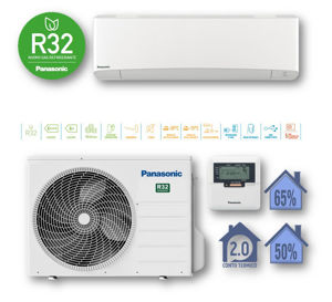 Picture of Panasonic | Kit Monosplit Professionale 15000BTU (4,2 kW) Cod. CU-Z42TKEA + CS-Z42TKEA
