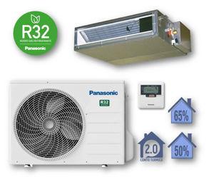 Picture of Panasonic   Kit Monosplit Canalizzato 12000BTU (3,5 kW) Cod. CU-Z35UBEA + CS-Z35UD3EAW