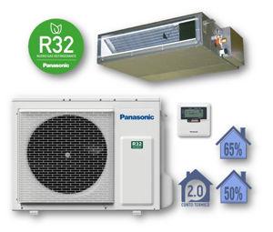 Picture of Panasonic | Kit Monosplit Canalizzato 18000BTU (5,0 kW) Cod. CU-Z50UBEA + CS-Z50UD3EAW