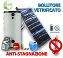 Immagine di ACS Circolazione Forzata | 60 Tubi Heat-Pipe Anti-stagnazione con Bollitore Vetrificato 1000 litri e Stazione Monovia con STDC