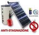 Immagine di ACS Circolazione Forzata | 50 Tubi Heat-Pipe Anti-stagnazione con Bollitore Vetrificato 800 litri e Stazione a 2 Vie con MTDC