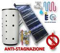 Immagine per la categoria SOLARE TERMICO - Kit ACS+Riscaldamento a Circolazione Forzata con Collettore Heat-Pipe