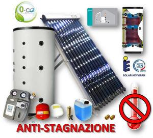 Picture of ACS + RISCALDAMENTO | 60 Tubi Heat-Pipe Anti-stagnazione con Termo Accumulatore con ACS Istantanea da 800 litri e Stazione 2 Vie con LTDC