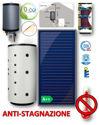 Immagine di ACS + RISCALDAMENTO | No.4 Collettori Piani FKA 240 V con Termo Accumulatore ACS Istantanea da 500 litri e DrainBox con LTDC