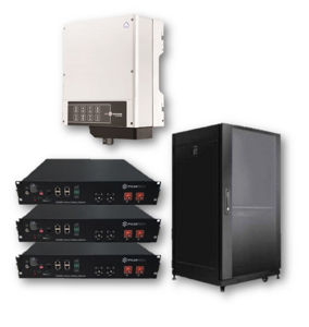 Picture of GoodWe | Kit Ibrido Monofase GW3648-EM - PYLONTech US2000 - Kit 2 moduli da 4.8 kWh