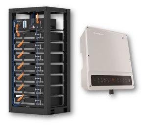 Picture of GoodWe | Kit Ibrido Trifase GW10K-ET - Kit Pylontech 9.6 kWh