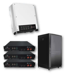 Picture of GoodWe AC | Kit Retrofit Storage Monofase GoodWe GW3600S-BP - PYLONTECH Kit LV da 12 kWh