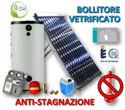 Immagine di ACS Circolazione Forzata | 30 Tubi Heat-Pipe Anti-stagnazione con Bollitore Vetrificato 300 litri e Stazione a 2 Vie con MTDC