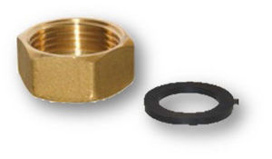 "Picture of MODVLVS | M2 DN32 Accessori - Set calotta con raccordo Femmina 1"" e guarnizione in EPDM - Cod. 105629F"