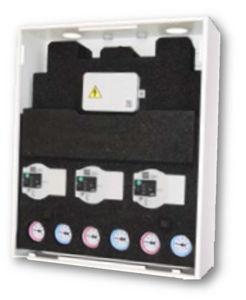"""Picture of MODVLVS   ModvBox - Cassetta di distribuzione modulare multizona con Isolamento - 1"""" - 270 mm - Cod. 402554ISO-04M-HW"""