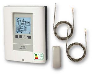 Picture of SOREL   Centralina Climatica XHCC-E - 2 Circuiti Riscaldamento + Raffrescamento + diverse fonti di calore - Con Ethernet