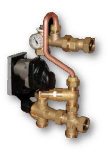 Picture of DomvS Clima   Valvola differenziale by-pass per il bilanciamento della pressione dell'impianto di riscaldamento - Art. 103901-687