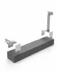 Picture of Sun Age | Tetto Piano - K303D19 - Kit modulare regolabile in acciaio Inox con Zavorra - Modulo Orizzontale - 5°-10°-30° su richiesta