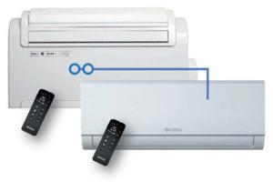 Picture of Olimpia Splendid | UNICO Twin MASTER+WALL S1 Cod.01273+01996 - Climatizzatore in Pompa di Calore - Senza unità esterna