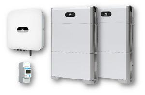 Picture of HUAWEI | Kit Ibrido Monofase SUN2000-6KTL-L1 - Kit Batteria Luna 2000 - HV 20 kWh