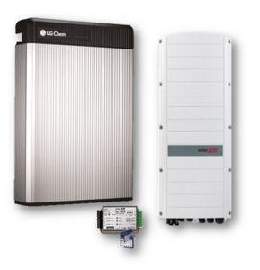 Picture of SolarEdge   Kit Ibrido Trifase StorEdge SE8K-RWS48BNN4 - LG Chem RESU 10