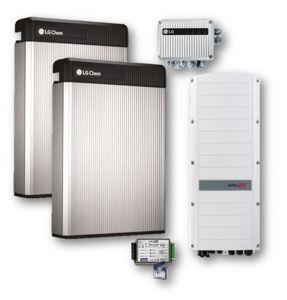Picture of SolarEdge | Kit Ibrido Trifase StorEdge SE8K-RWS48BNN4 - Kit LG Chem RESU 10 - 2 Batterie