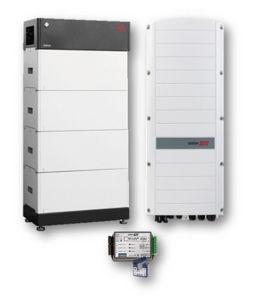 Picture of SolarEdge | Kit Ibrido Trifase StorEdge SE8K-RWS48BNN4 - BYD LVS 8 kWh