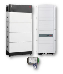 Picture of SolarEdge | Kit Ibrido Trifase StorEdge SE10K-RWS48BNN4 - BYD LVS 8 kWh