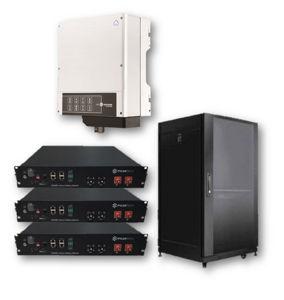 Picture of GoodWe | Kit Ibrido Monofase GW3048-EM - Pylontech LV 9.6 kWh